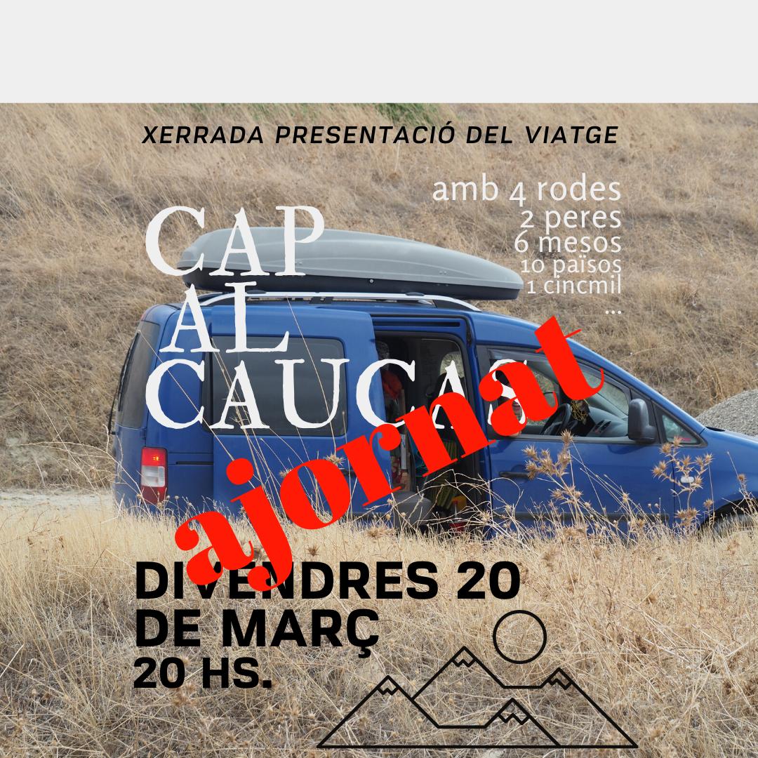 """Cicle Xerrades: Cap al Caucas, amb 4 rodes i 2 peres""""."""