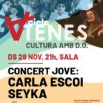 Concert Jove amb Carla Escoi i Seyka