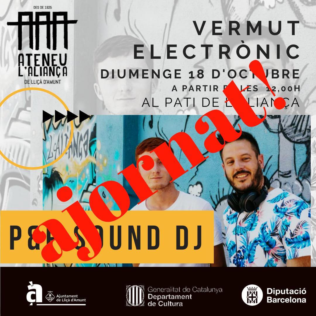 Vermut Electrònic: P&P SOUND DJ