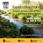 Escola de Natura: itinerari de natura pel riu tenes