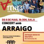 """Concert amb """"Arraigo"""""""