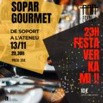 Sopar Gourmet  + Festa Verkami